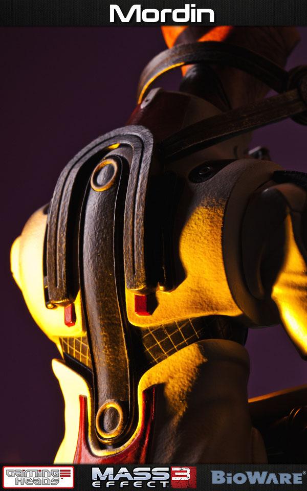 Estátua Mass Effect 3 1/4 Mordin Limited Edition 52 cm