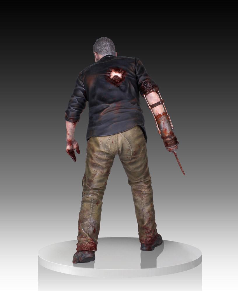 The Walking Dead Statue 1/4 Merle Dixon Walker 41 cm