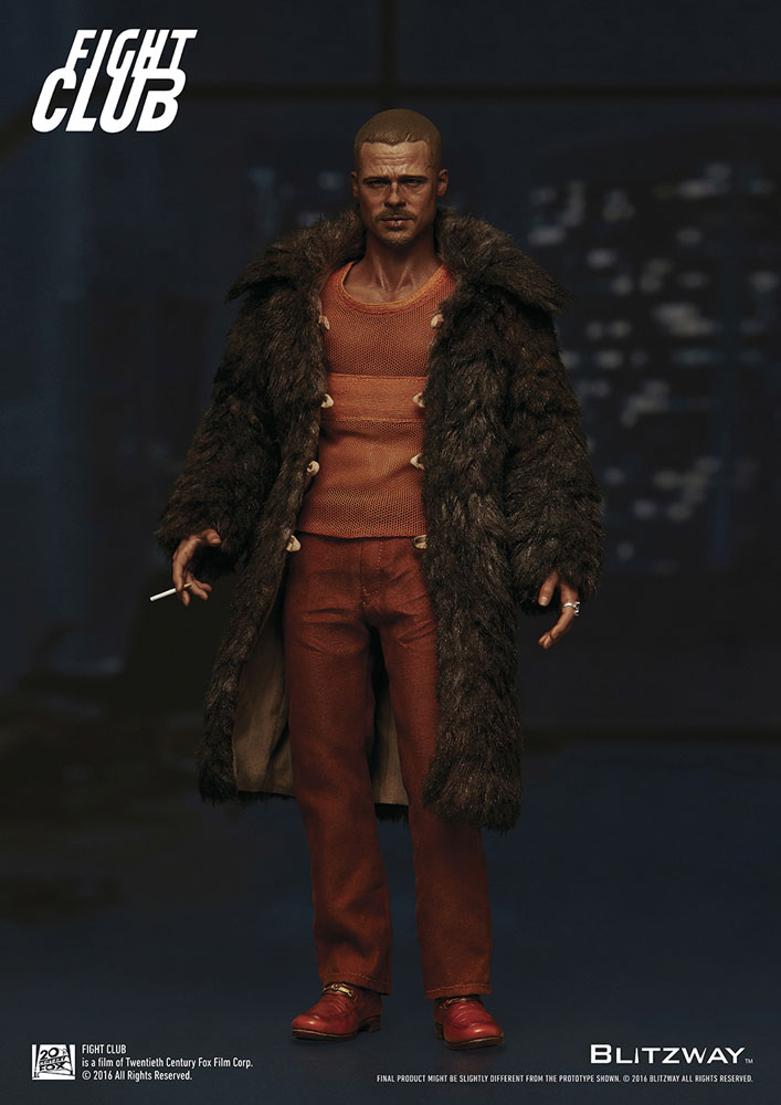 Action Figure Fight Club 1/6 Tyler Durden (Brad Pitt) Fur Coat Ver. 30 cm