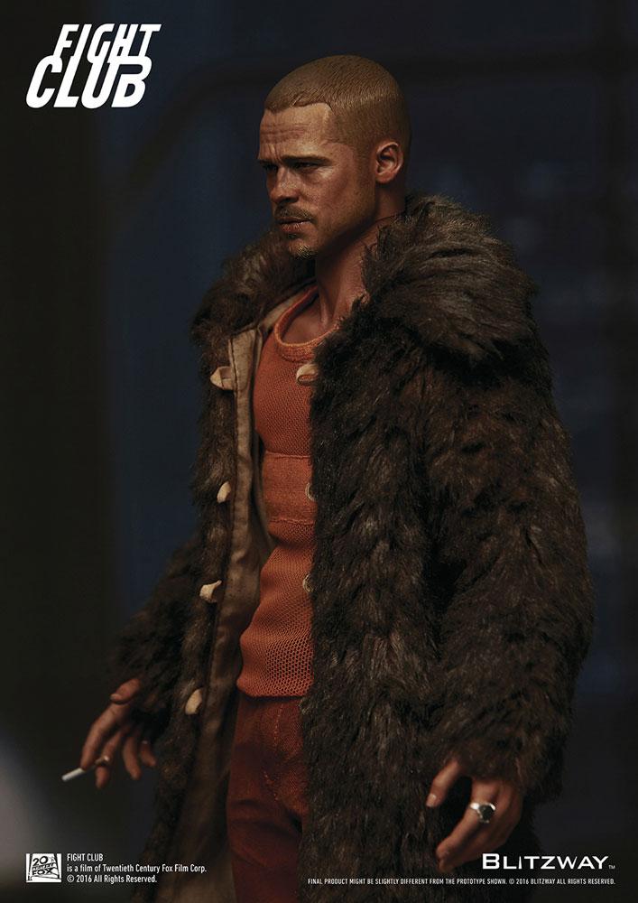 Action Figure Fight Club 1/6 Tyler Durden (Brad Pitt) Fur Coat Ver. 30 cm