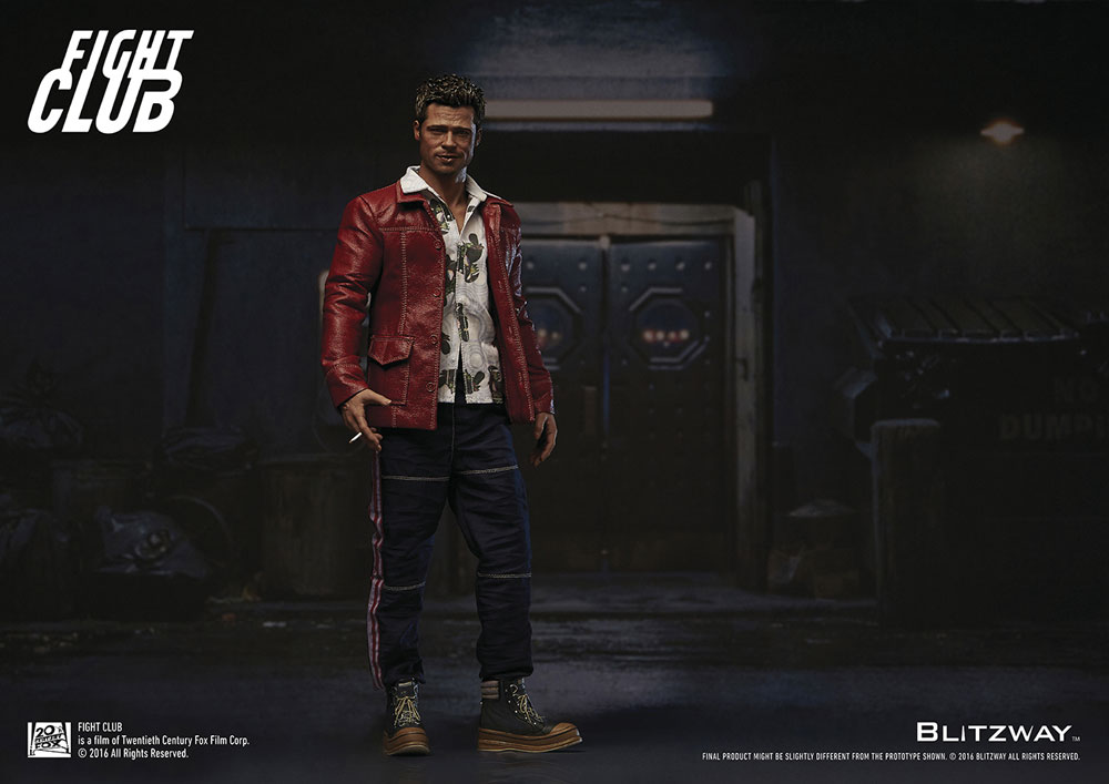 Action Figure Fight Club 1/6 Tyler Durden (Brad Pitt) Red Jacket Ver. 30 cm