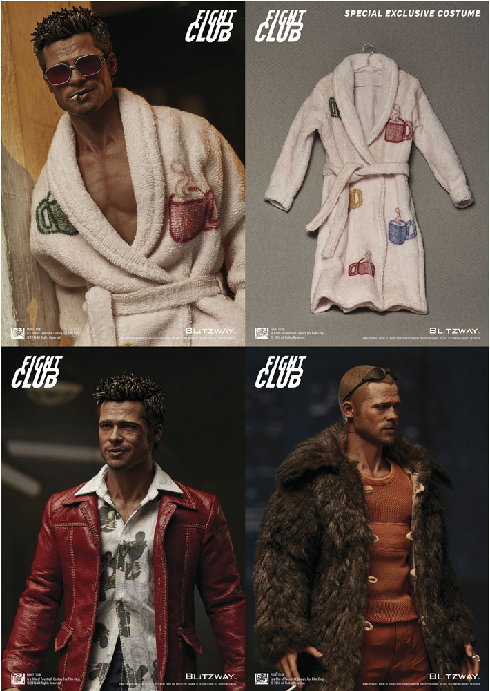 Action Figure Fight Club 2-Pack 1/6 Tyler Durden Special Pack 30 cm