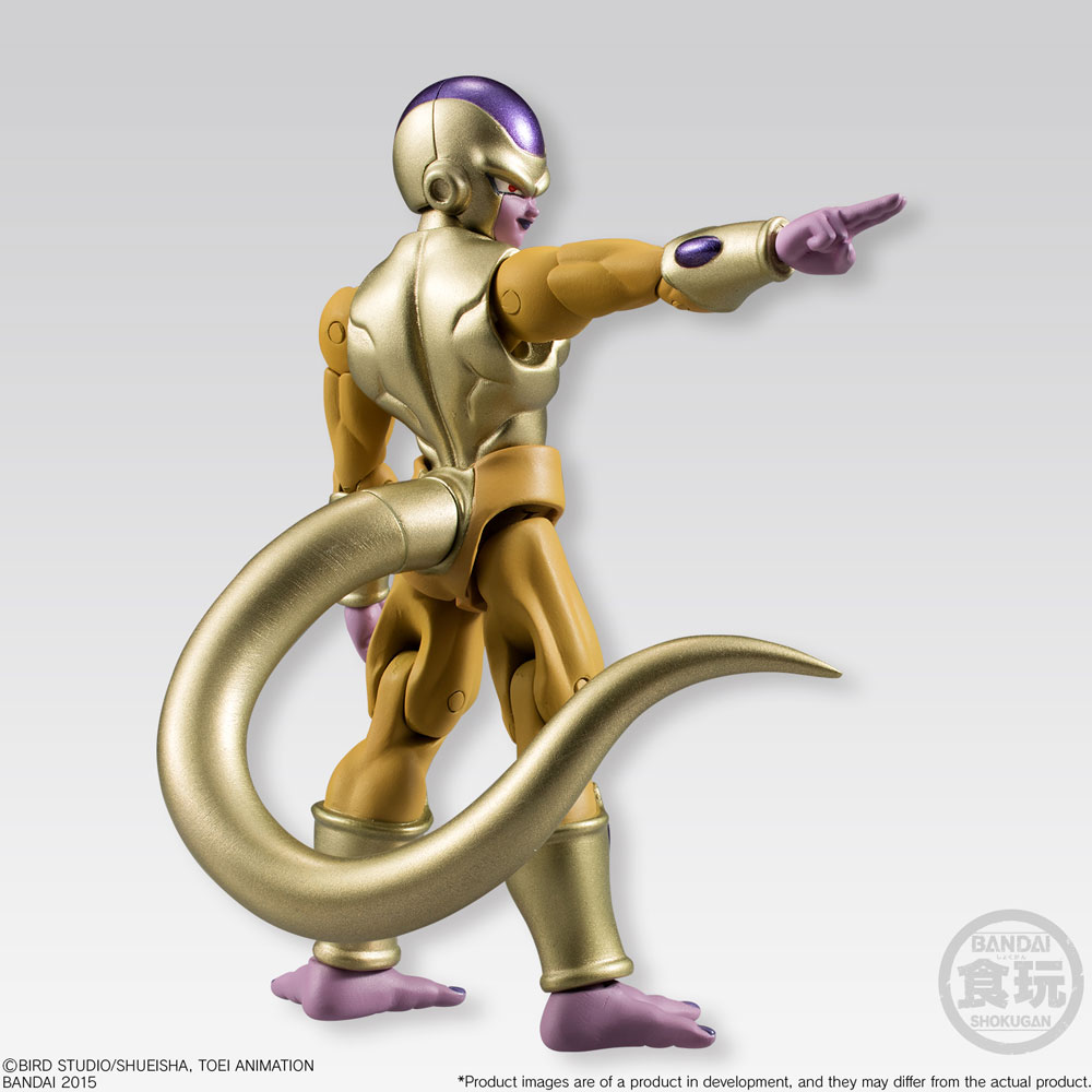 Action Figure Dragonball Z Shodo Golden Freeza 10 cm