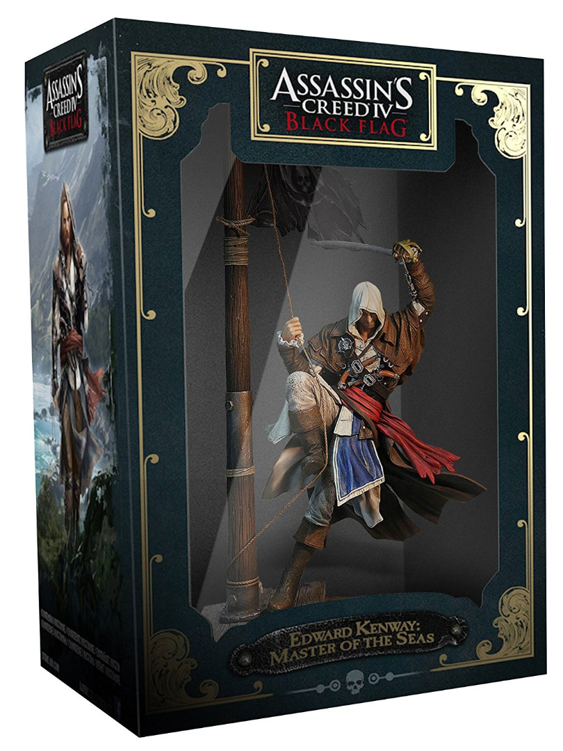 Estátua Assassins Creed IV BlackFlag Edward Kenway Master of the Seas 45 cm