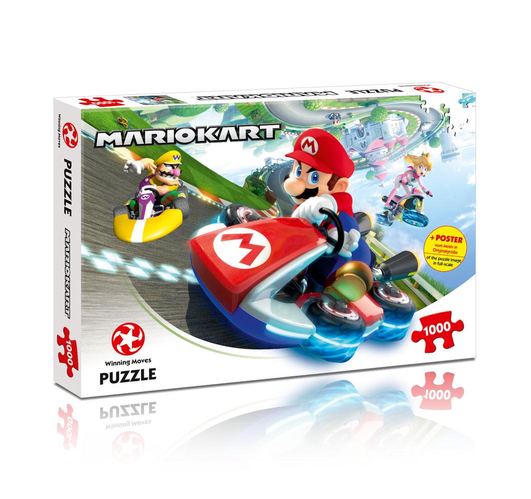Puzzle 1000 Peças + Poster Mario Kart