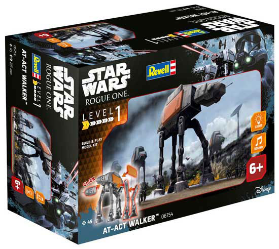 Star Wars Rogue One Build & Model Kit with Sound & Light Up AT-ACT 22 cm