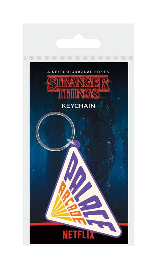 Porta-Chaves/Keychain  Stranger Things Rubber Palace Arcade 6 cm