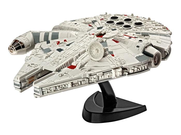 Star Wars Episode VII Model Kit 1/241 Millennium Falcon 10 cm