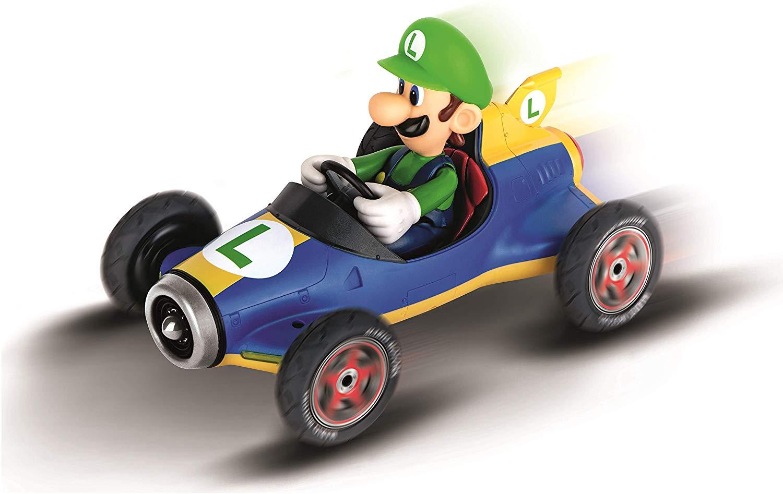 Carrera RC/Telecomandado 2.4 GHz Nintendo Mario Kart Mach 8 Luigi 1:18