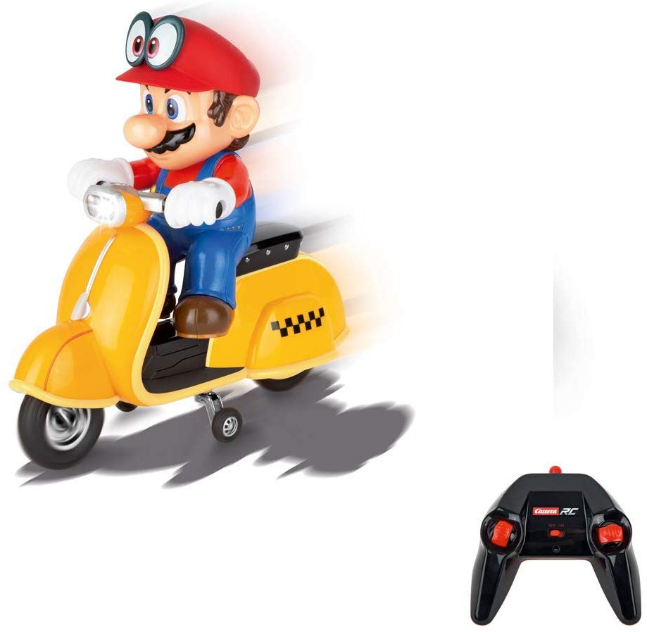 Carrera RC/Telecomandado 2.4 GHz Super Mario Odyssey Scooter 1:18