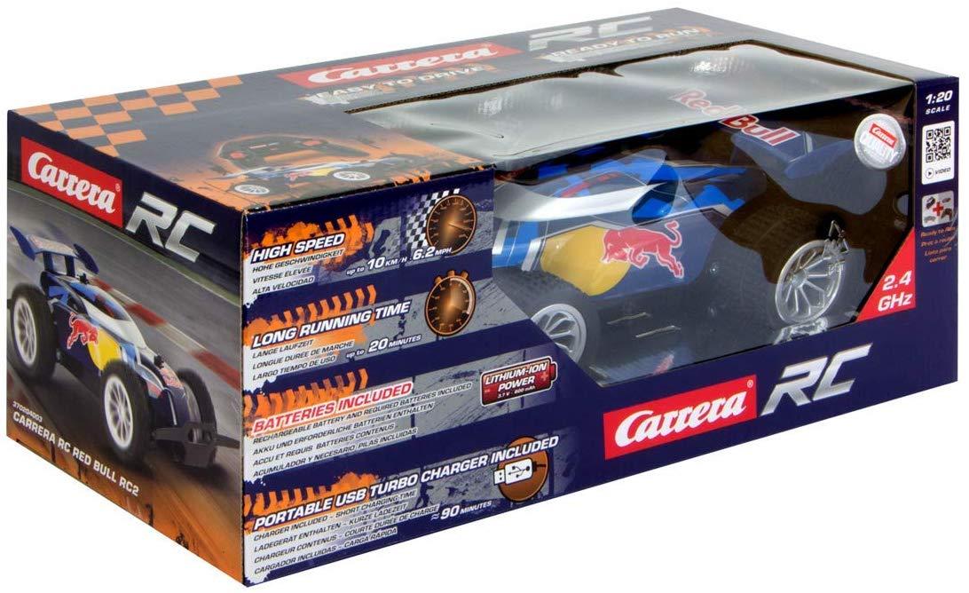 Carrera RC/Telecomandado 2.4 GHz Carrera RC Red Bull RC2 1:20
