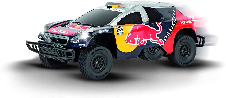 Carrera RC/Telecomandado 2.4 GHz  Peugeot Red Bull Dakar (com luzes) 1:16