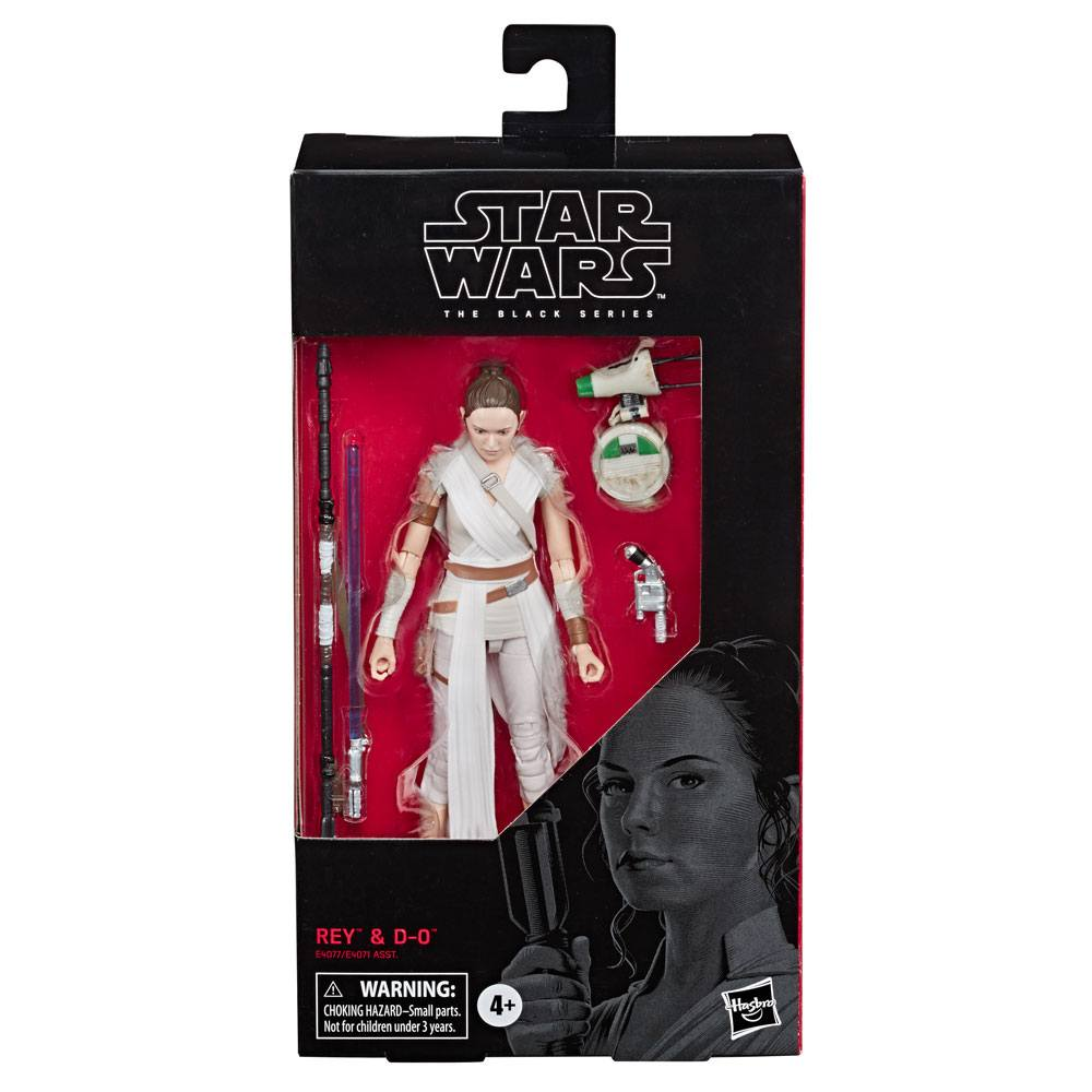 Star Wars Episode IX Black Series Action Figure 2019 Rey & D-O 15 cm