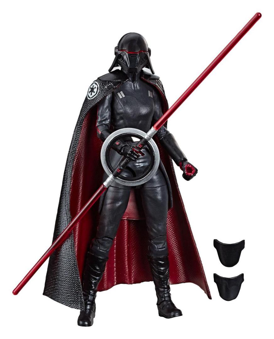 Star Wars Episode IX Black Series AF 2019 Second Sister Inquisitor 15 cm