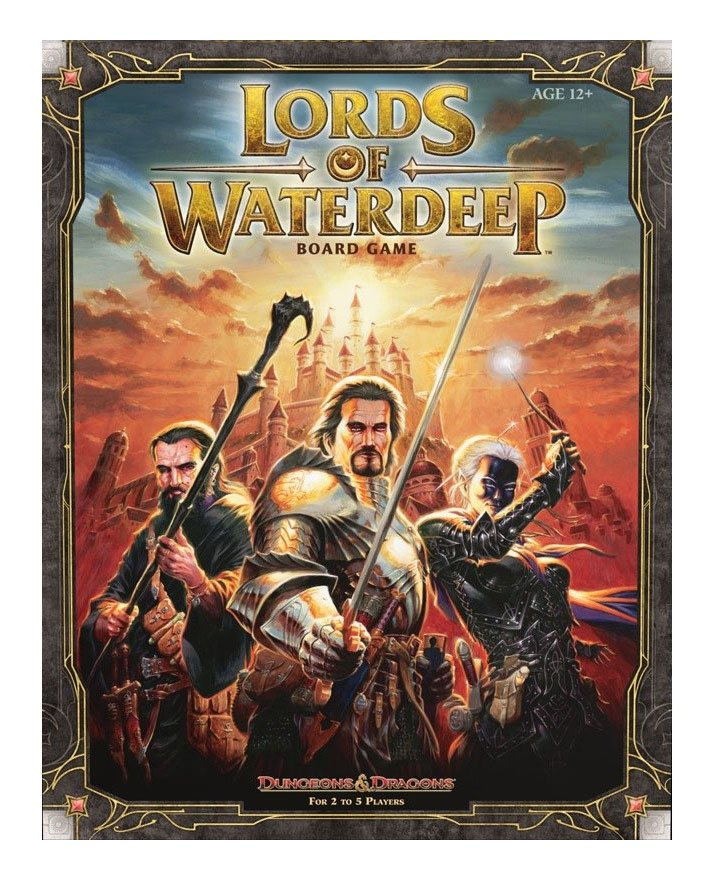 Dungeons & Dragons Board Game Lords of Waterdeep English