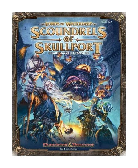 Dungeons & Dragons BG Expansion Lords of Waterdeep: Scoundrels of Skullport