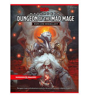 Dungeons & Dragons RPG Waterdeep: Dungeon of the Mad Mage Maps & Miscellany