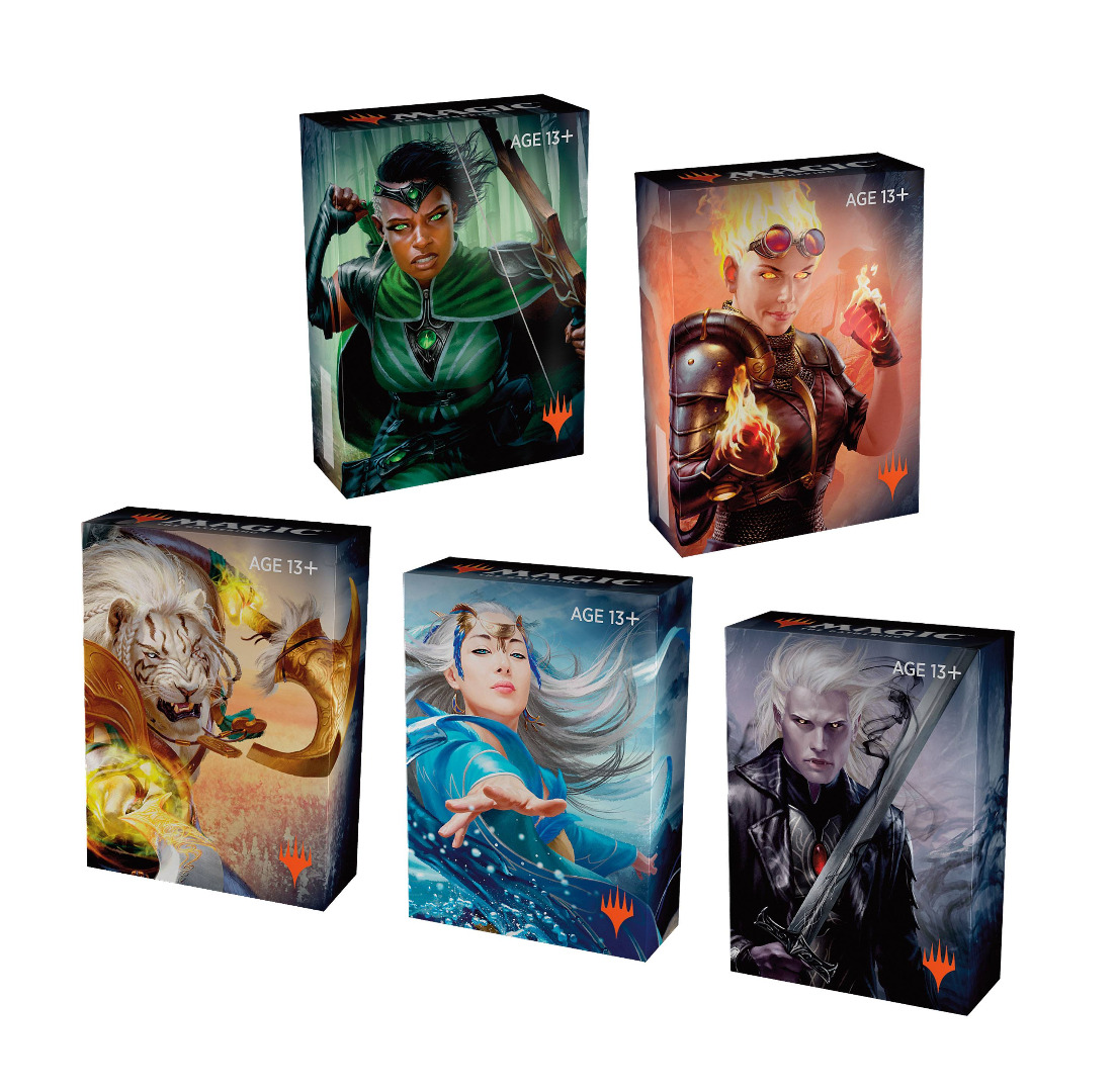 Magic the Gathering Core Set 2020 Land Station Box (400 Lands) English