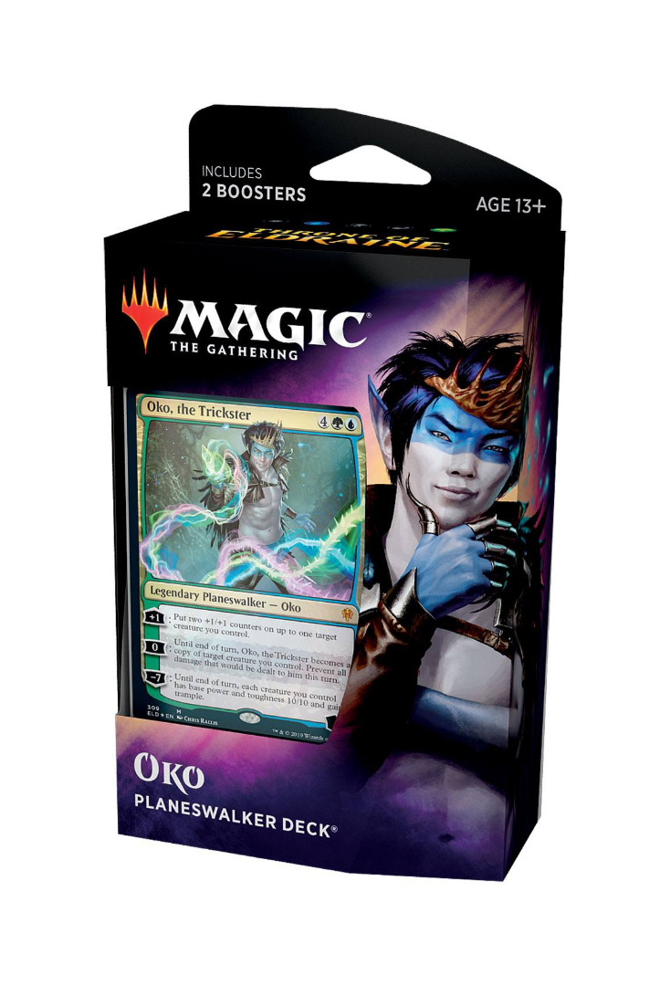 Magic the Gathering Throne of Eldraine Planeswalker Deck Oko English