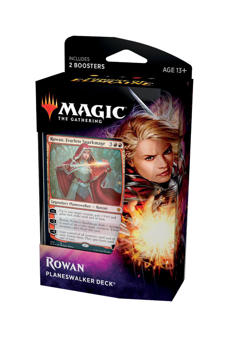 Magic the Gathering Throne of Eldraine Planeswalker Deck Rowan English