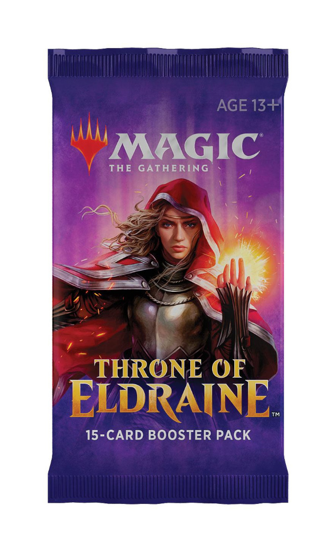 Magic the Gathering Throne of Eldraine Booster English