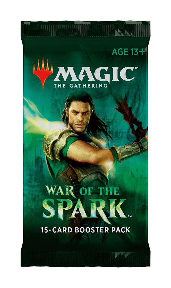 Magic the Gathering War of the Spark Booster Display English