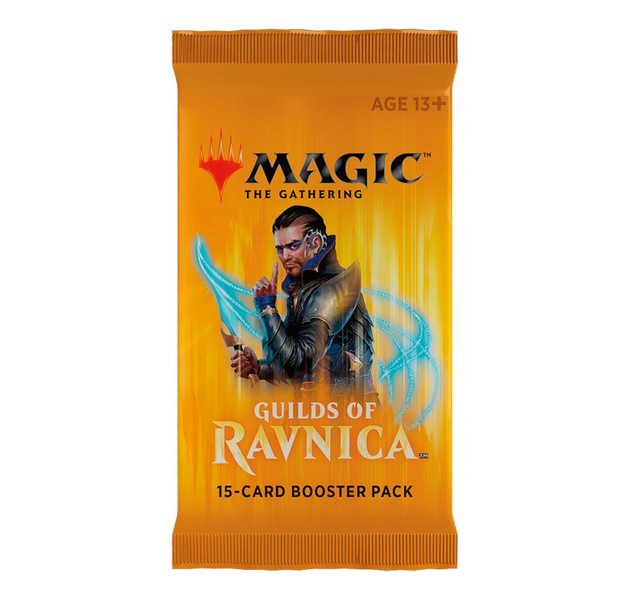 Magic the Gathering Guilds of Ravnica Booster English