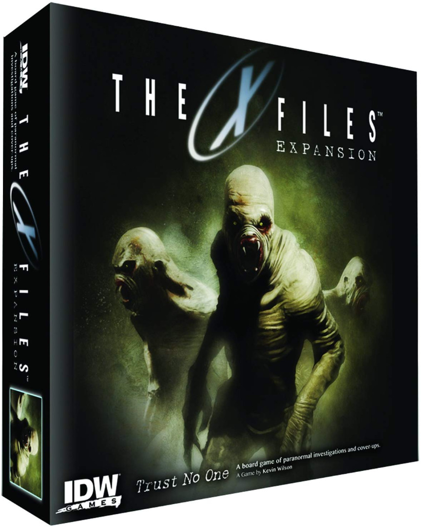 The X-Files: Trust No One Expansion English