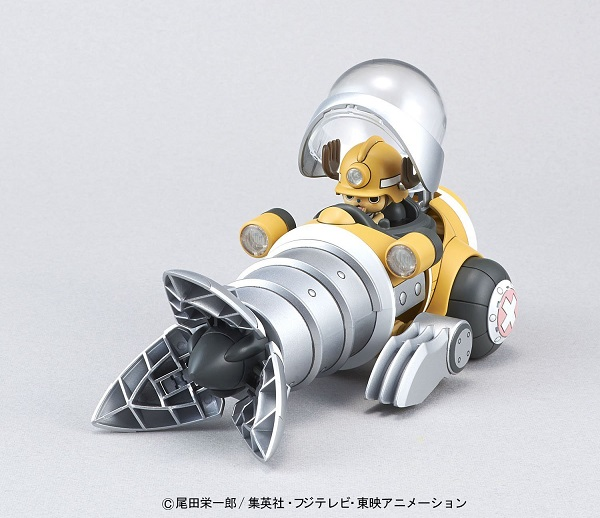 One Piece Chopper Robo Series Plastic Model Kit Chopper Drill 10 cm