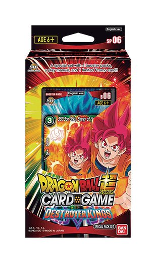 Dragon Ball Super Card Game Season 6 Special Pack Destroyer Kings English