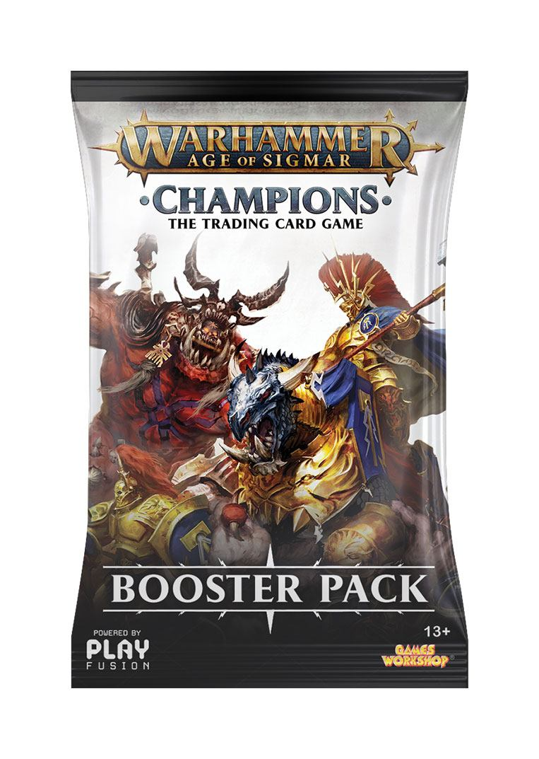 Warhammer Age of Sigmar: Champions Wave 1 Booster English Version