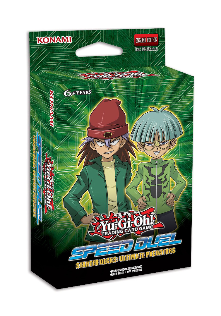 Yu-Gi-Oh! Speed Duel Starter Deck Ultimate Predators English Version
