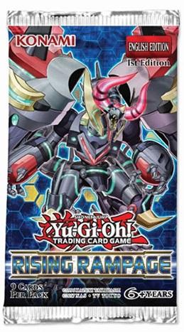 Yu-Gi-Oh! Rising Rampage Booster English Version