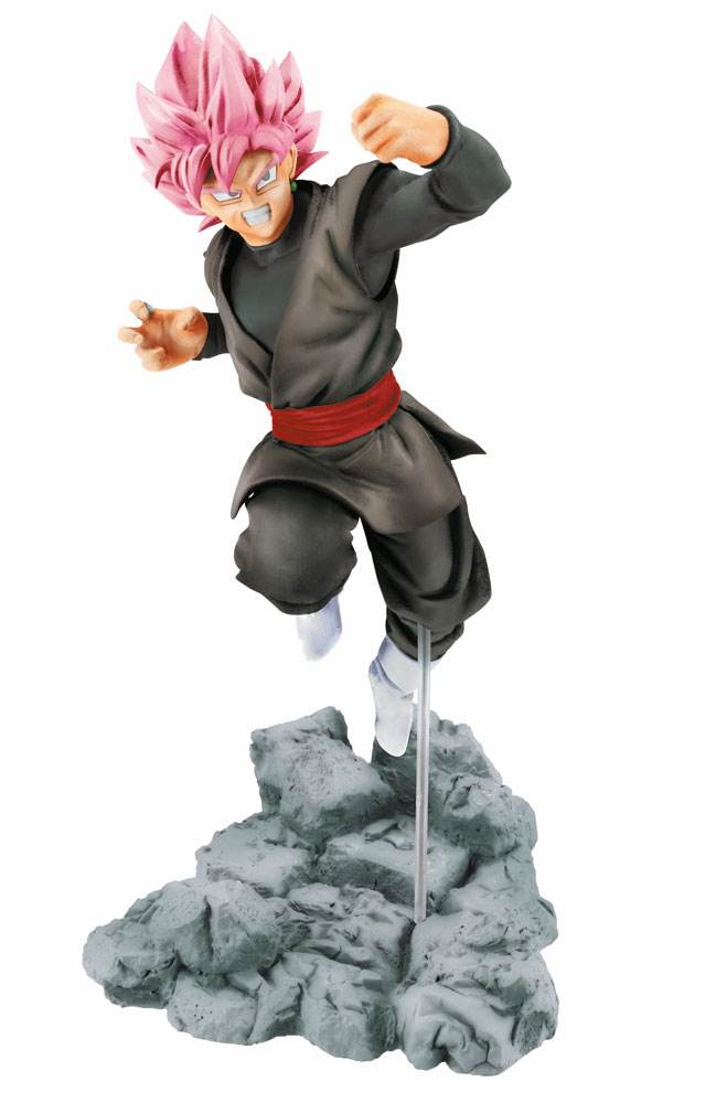 Dragonball Super Soul x Soul Figure Black Goku 14 cm