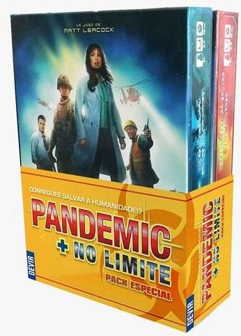 Pandemic + Pandemic: No limite Pack Especial de Colecionador (Em Português)
