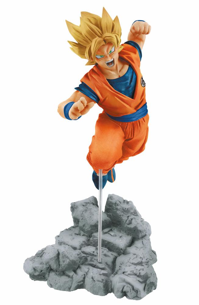 Dragonball Super Soul x Soul Figure Super Saiyan Goku 14 cm