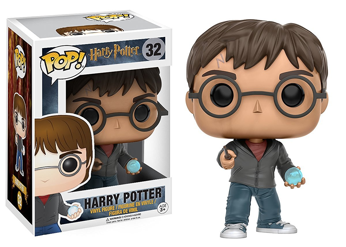 Funko POP! Movies Harry Potter - Harry Potter with Prophecy 10 cm