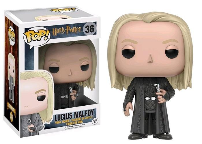 Funko POP! Movies Harry Potter - Lucius Malfoy Vinyl Figure 10 cm