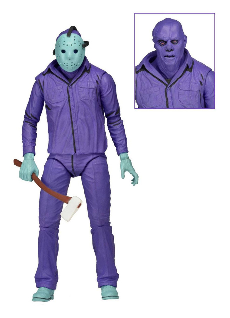 Friday the 13th Action Figure Jason Theme Music Edition Classic Video Game