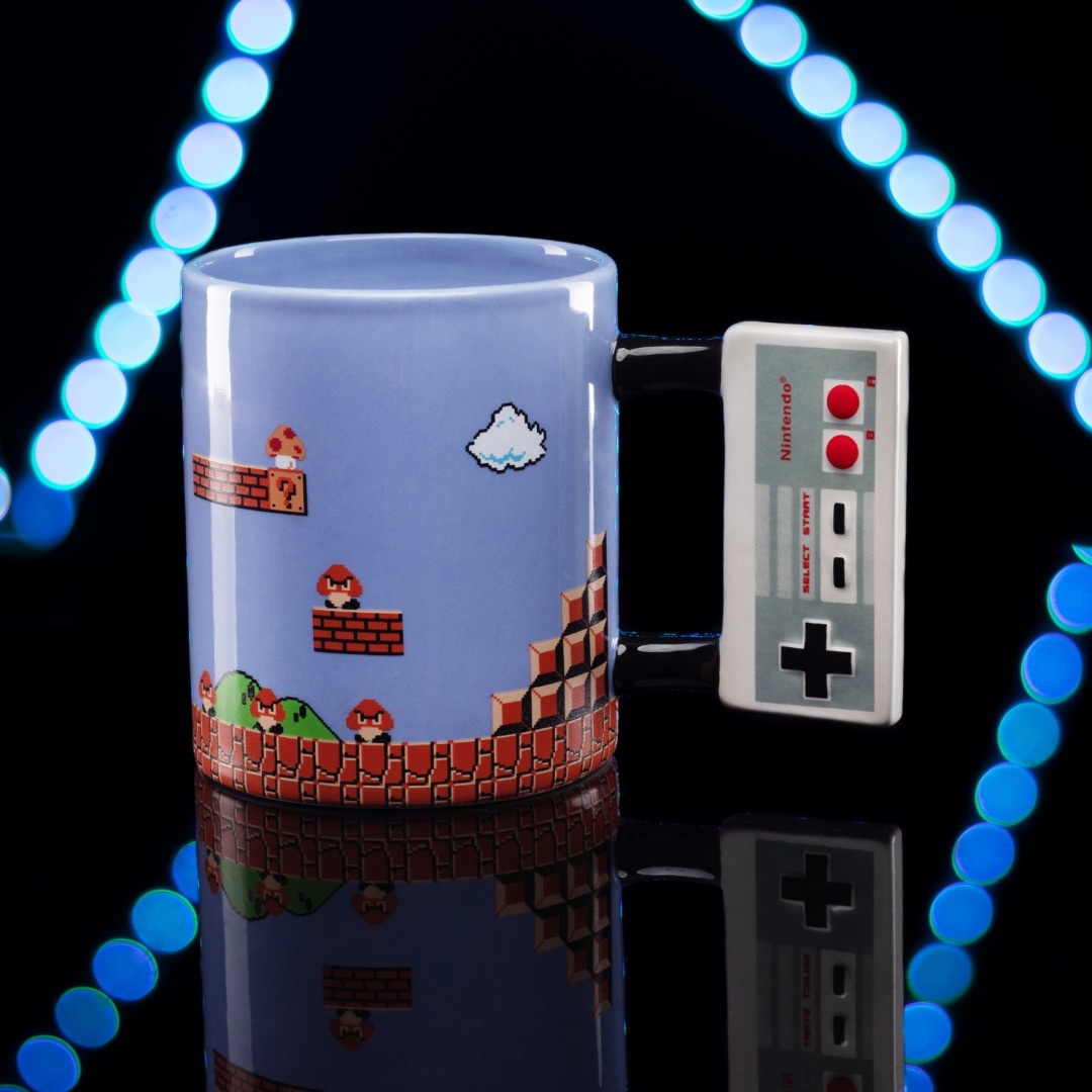 Caneca/Mug Nintendo Shaped NES Controller