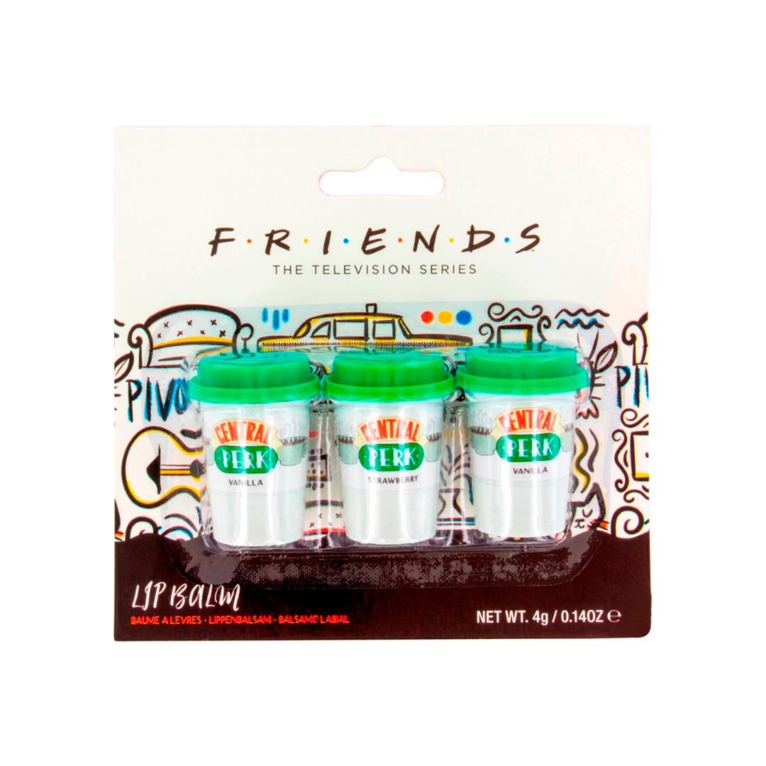 Friends: Central Perk Lip Balm Set 3-Pack