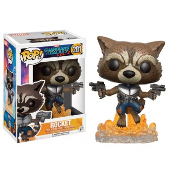 Funko POP! Marvel - Guardians of the Galaxy vol. 2 ROCKET Raccoon BLASTING