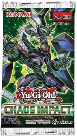 Yu-Gi-Oh! Chaos Impact Booster *English Version*