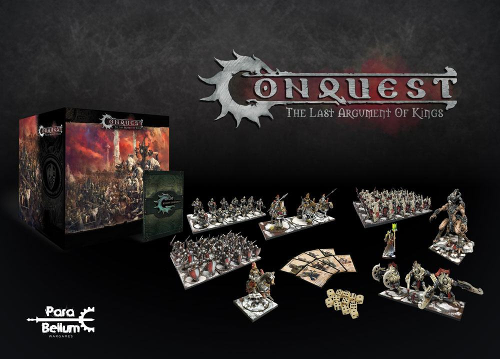 Conquest: The Last Argument of Kings Tabletop Game Core Box Set