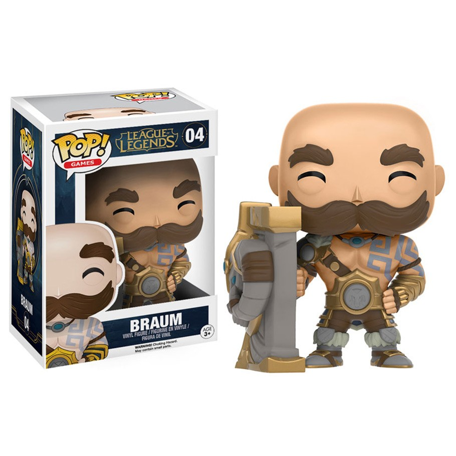League of Legends POP! Games Vinyl Figure Braum 10 cm