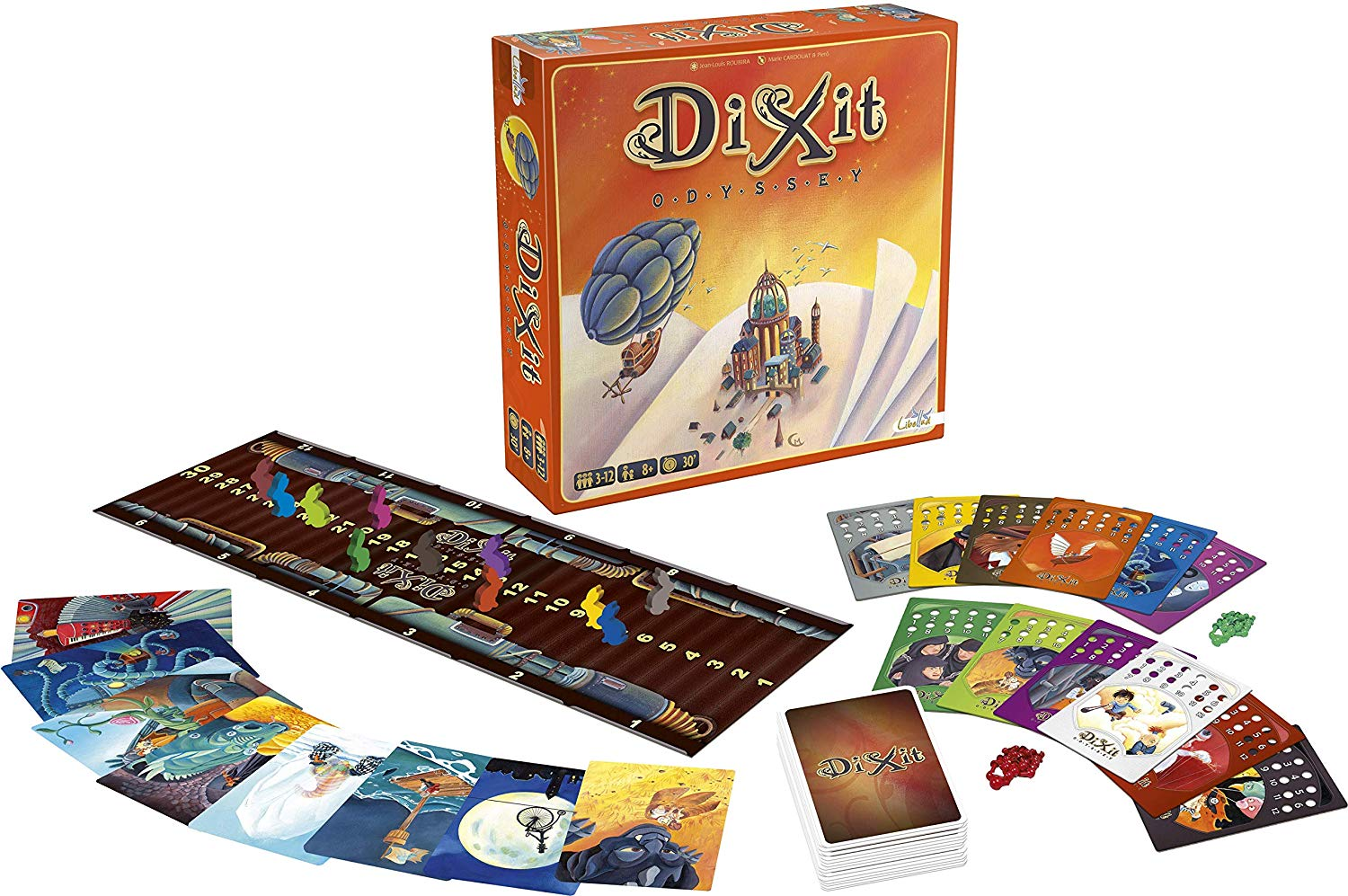 Dixit + Odyssey Expansion