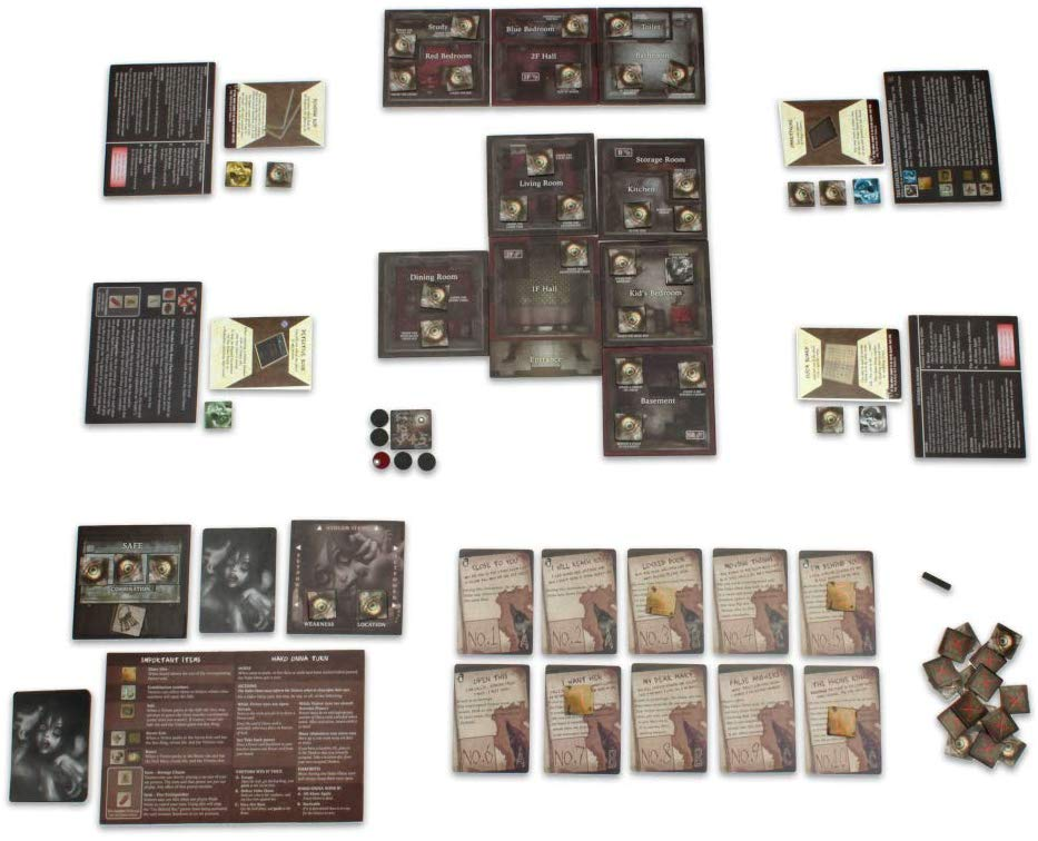 Hako Onna Board Game