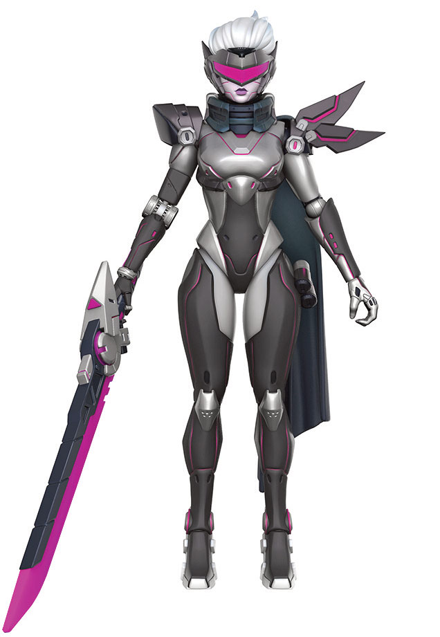 Action Figure League of Legends Legacy Collection Fiora Project Skin 15 cm