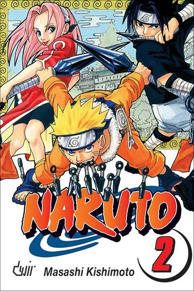 Mangá - Naruto Vol. 02 (Em Português)