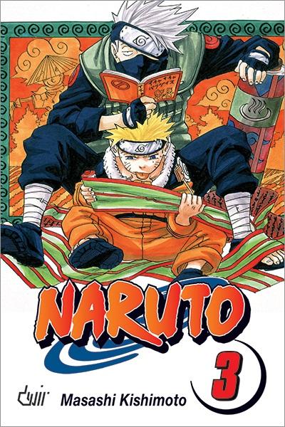 Mangá - Naruto Vol. 03 (Em Português)